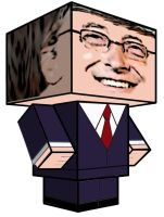 Cubee - Bill Gates by 7ater
