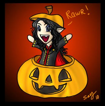 Halloween Mael by Captain-Savvy