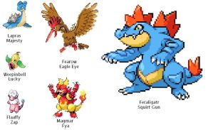 Pokemon Soul Silver Team 5.25.2012 by SpiderMatt512
