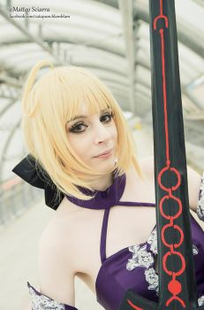 Saber Alter II by HyruleLover