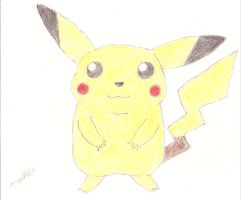 It's a Pikachu by CobaltBrony