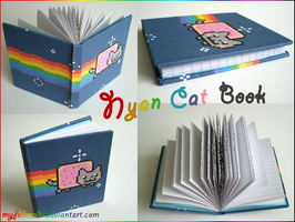 Nyan Cat Handmade Journal by MyFebronia