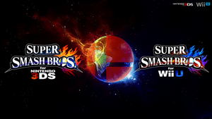 Super Smash Bros. Wii U/3DS Logo Wallpaper #78 by TheWolfBunny