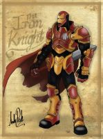 The iron knight by dj-andy