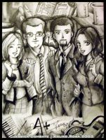 Anime Yearbook: Faculty by kaliko-rosa