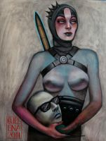 Judith and Holofernes by medusainfurs