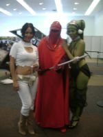 oola, padme and imperial guard by lavsivrack