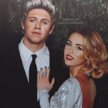 Niall and Miley manip  by castellidicarte
