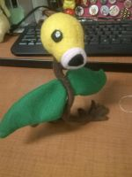 Bellsprout Plush by Vulpes-Canis