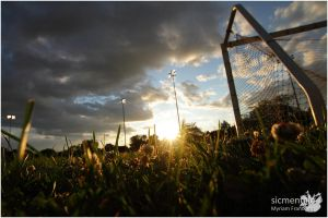 No One Plays Soccer At Sunset by sicmentale