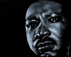 Martin Luther King by SimoneFiani