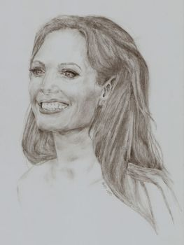 Angelina Jolie by neriiware