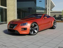 Audi aQa concept 2 by cipriany
