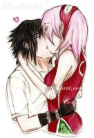 .:Sasusaku:. by bloodaidee