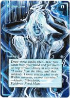 Magic the Gathering Alteration: Brainstorm 5/20/14 by Ondal-the-Fool