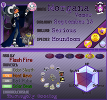 PKMN Armonia App - Morgana Vomer [Year 2 - V2] by Powerwing-Amber