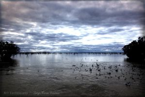 Lake Pamamaroo by TanyaMarieReeves