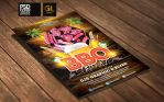 BBQ Party Flyer Template by Grandelelo