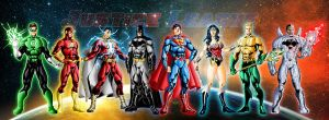 New 52: Justice League by grivitt
