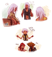 riku sketches?? by hyamara