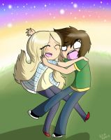 Cecile and Chris by Kazia-Kat