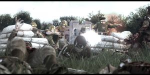 8th Cadian MG squad repel a Heretic Bayonet charge by lolcopter121