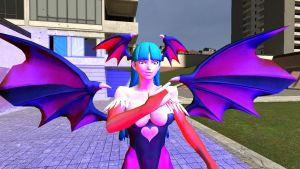 morrigan in Gmod 1 by correo1231