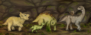 The Land Before Time by SilverRacoon