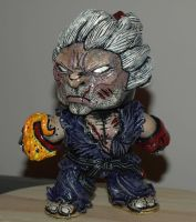 Street fighter Akuma custom mighty mugg 2 by VILORIA-ARTS