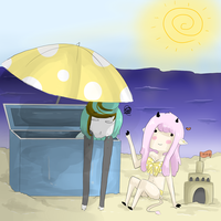 I hate the beach. by Desufy