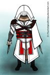 Chibi Ezio Auditore by PsychologicalEntropy