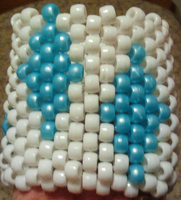 Rarity Kandi Cuff by anne-t-cats