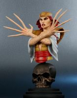 Lady Deathstrike Painted by ASM-studio
