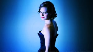 Emma Watson The Blue Rose by Dave-Daring