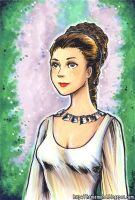 Ceremonial Dress Leia by HanieMohd