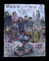 Harry Potter - Magic Never Dies by noradoesmanga