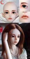 BJD Face Up - Mystic Kids Miri by Izabeth