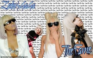 Lady Gaga WP - The Fame by KeybladeMeister