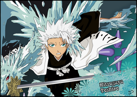 Hitsugaya Toshiro - Bleach by Gynos