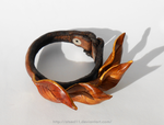 Elven Leaf Cuff / Bracelet 3 by atsed11