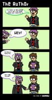 Guest comic for The Author by eddsworld