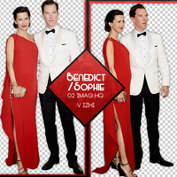 +Photopack Png Benedict Cumberbatch/Sophie Hunter by AHTZIRIDIRECTIONER