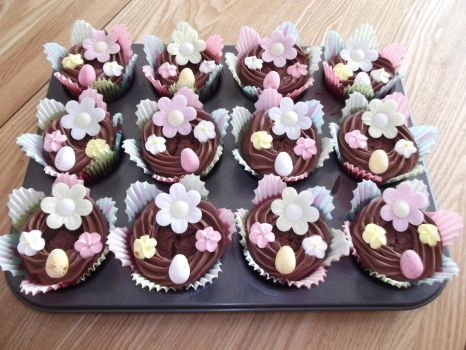 Easter Cupcakes by Ai-Cuppycake