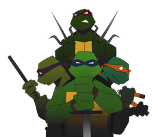 TMNT Bros by student-yuuto