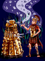 Rory and the Dalek by Whiskap