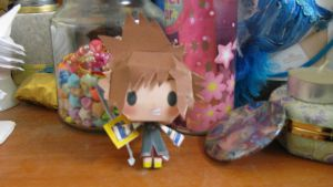 Sora- Papercraft by Shinigamichick39