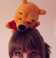 Pooh bear . by JacqUNITED