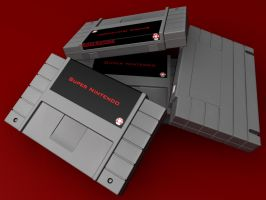 SNES Cartridge - Preview 2 by bluespeed9