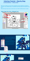 COLORING tutorial - Part 1 by pekou