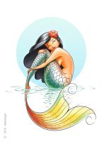 Mermaid. by aleksangel